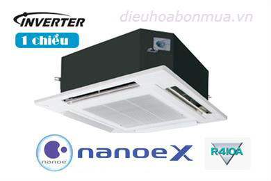 dieu hoa am tran panasonic 34000 btu 1 chieu inverter