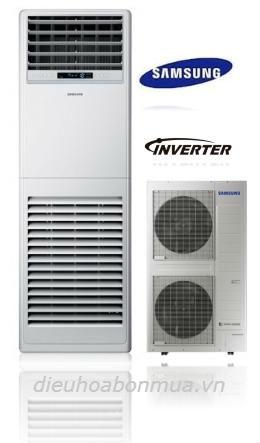 Điều hòa tủ đứng Samsung 1 chiều Inverter 48.000btu AC048KNPDEC SV
