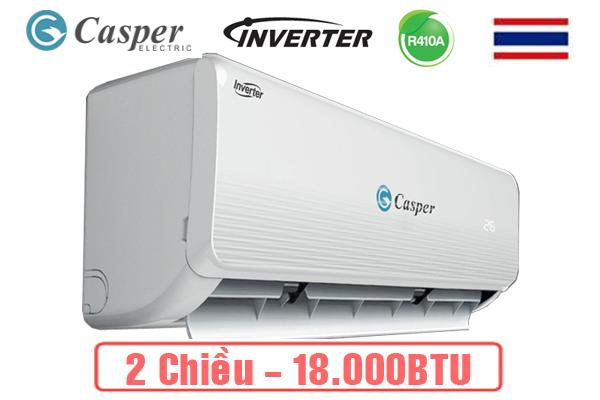 Điều hòa casper 2 chiều Inverter công suất 18.000Btu