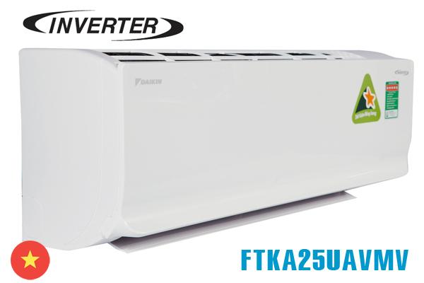 Điều hòa Daikin 1 chiều Inverter 9.000Btu FTKA25UAVMV