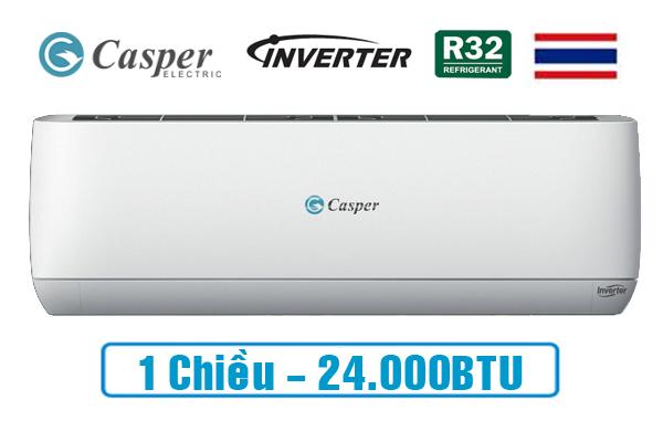 Casper 1 chiều Inverter 24.000btu gc-24tl32