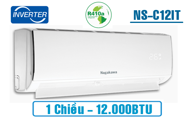 Điều hòa Nagakawa 1 chiều Inverter 12.000BTU NSC12IT