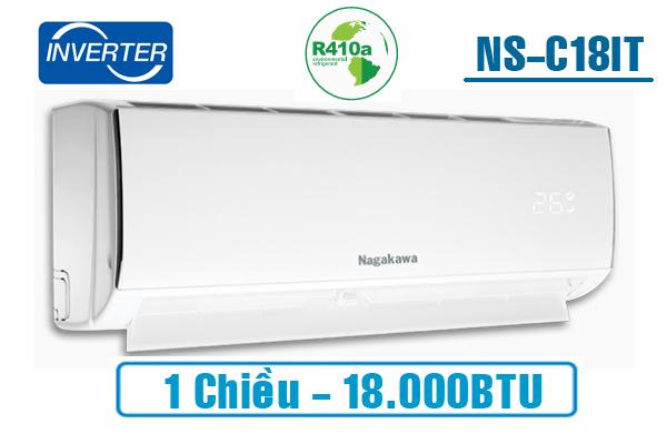 Điều hòa Nagakawa 1 chiều Inverter 18.000BTU NSC18IT