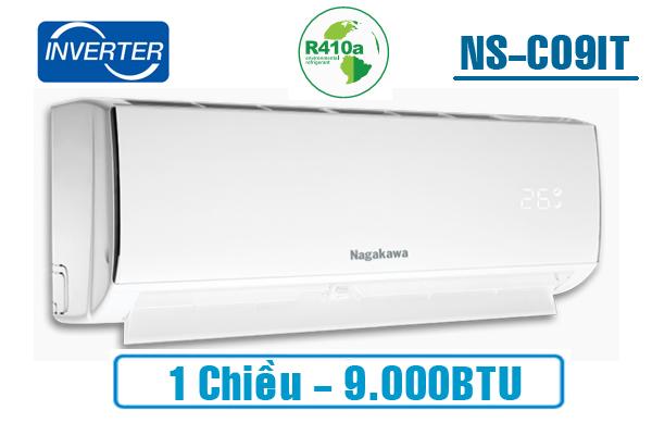 Điều hòa Nagakawa 1 chiều Inverter 9.000BTU NSC09IT