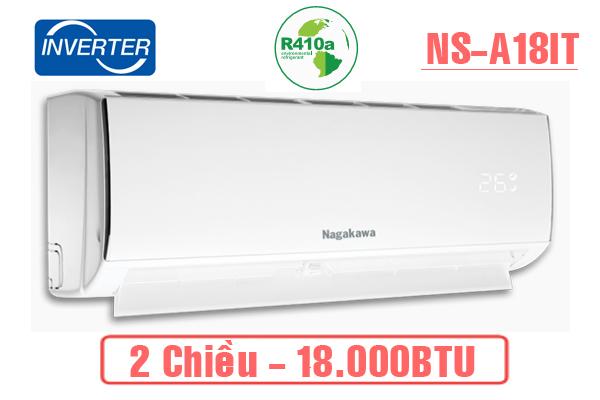 Điều hòa Nagakawa 2 chiều Inverter 18.000BTU NSA18IT