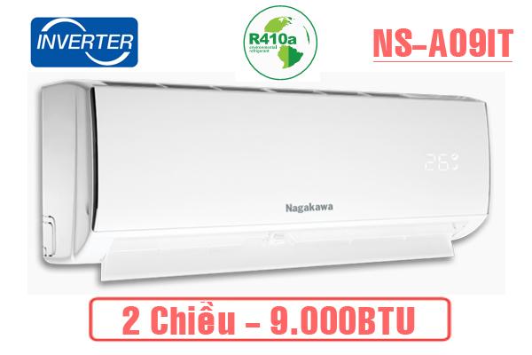 Điều hòa Nagakawa 2 chiều Inverter 9.000BTU NSA09I