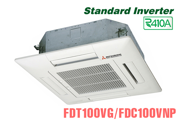 Điều hòa âm trần Mitsubishi Heavy 34.000BTU inverter 2 chiều FDT100VG/FDC100VNP