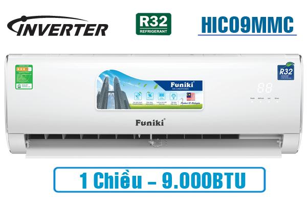 Điều hòa Funiki 1 chiều Inverter công suất 9.000Btu