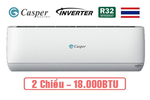 Điều hòa casper 2 chiều Inverter Gh-18Tl32