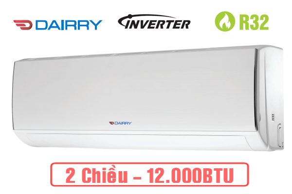 Điều hòa dairry 2 chiều Inverter 12.000 Btu