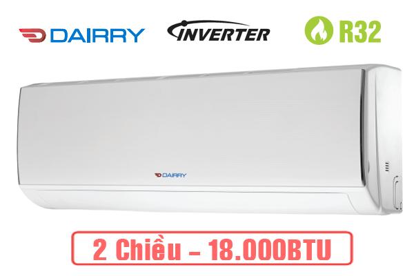 Điều hòa Dairry 2 chiều Inverter 18.000 btu